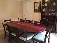 Dinning suite and cabinet