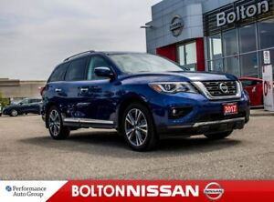2017 Nissan Pathfinder Platinum|NAVI|Bluetooth|Leather|DVD