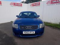 2003 53 AUDI TT 3.2 V6 COUPE 4X4 DSG AUTOMATIC QUATTRO WITH FACTORY EXTRAS,BOSE.