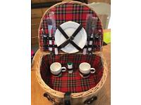Picnic basket. Brand new, never used.