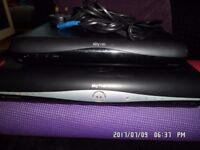2 sky tv boxes, 1 DRX890W full size 2tb memory, 1 DRX595 mini box