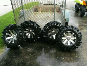 """30"""" mudder in laws with rims"""