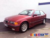 🌸Museum Condition 1997 E36 BMW 3 SERIES 316i COMPACT, Only 45k Miles, One former keeper
