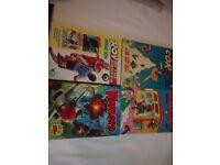 Four comic annuals