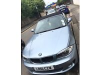 Bmw 1 series convertable very low mileage
