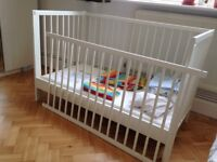 Baby Cot plus accessories- Gulliver Ikea from 0-3.5 years