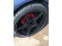 Wolfrace 17s alloys