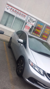 2015 Honda civic.automatic Ex.finance available