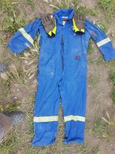 Flame Resistant Coveralls.