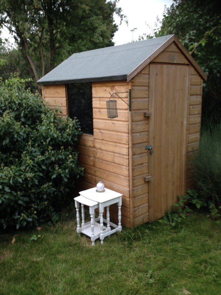 Garden Sheds Gumtree 6x4 six month old garden shed in immaculate condition for sale