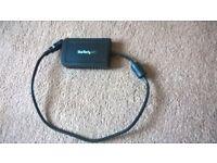 startech USB to VGA external video card multi screen