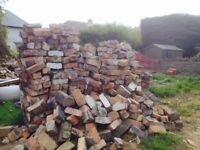 1000 free recycled 1920s bricks. Come and get them!