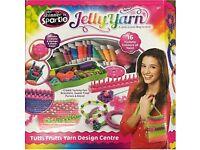 New Shimmer n Sparkle Jelly Yarn Tutti Frutti Yarn Design Centre Knitting Toy