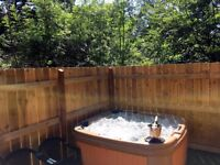 Kaowood Country Park, South Wales. Lodges with Sauna or Hot Tubs, 1-4 Bed, sleep 2-8. Dog Friendly