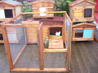 "rabbit hutch 48""wide xterior /internal from £35.00 robust germ free worth viewing 7days"