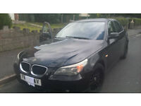 BMW 5 SERIES 525 DIESEL AUTO BREAKING FOR PARTS
