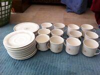 Tea set and side plates