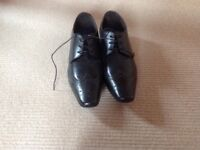 Brand New Base of London Leather Black Shoes