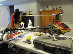 Align TRex 500 R/C remote control helicopter