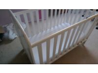 Cot bed white. FREE