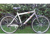 Gents comfort bike 26'' wheels 6 gears