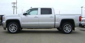 2014 GMC Sierra 1500 SLT Crew 4x4  76,900km Heated Leather