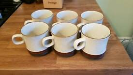 Denby mugs set