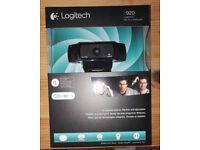 Logitech C920 HD Pro 1080p Webcam BRAND NEW