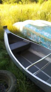 Aluminium 12 ft canoe $400