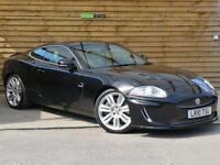 Jaguar XK 5.0 Supercharged V8 R 2dr Auto FULL JAGUAR SERVICE HISTORY (ultimate black metallic) 2010