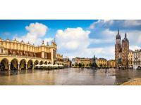 Garden Palace Hotel in Krakow 8-11th September