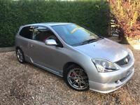 2004 Honda Civic Type R EP3 Facelift Silver 88k Red Interior 2 lady owners Manual Petrol 2.0 VTec