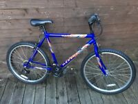 ADULT MAXIMA MOUNTAIN BIKE WITH 18 GEARS ,26 INCH WHEELS