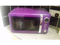 Colour play Purple microwave