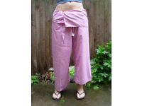 Thai fisherman wrap-around trousers