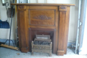 Fireplace enclosure,