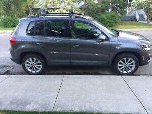 2014 AWD Volkswagen Tiguan Comfortline SUV