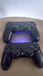 2 Playstation remotes 80$ obo