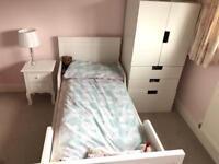 Junior White Bed