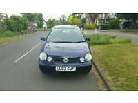 VOLKSWAGEN POLO 1.4 AUTO LOW MILEAGE BRAND NEW CAMBELT 03plate