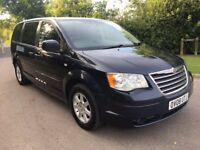 2008 Chrysler Grand Voyager CRD Touring Turbo diesel Stow and Go Automatic 7 seater mv