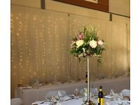 Hand made free standing starlight curtain backdrop for sale (6m wide x 3 m high)