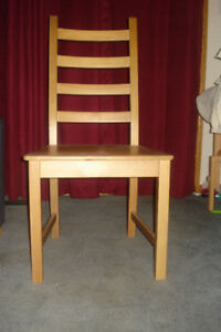 Wood dining /kitchen chairs