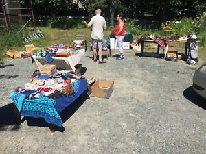 Yard sale portugal cove rd/smallwood lane