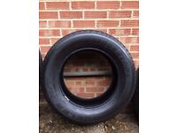 SALE OF 4 TOYOTA LAND CRUISER USED TYRES