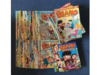 Over 100 Beano Comics and 3 Annuals