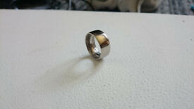 handmade inside out 1959 2 shilling coin ring