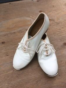 White Clogging Shoes