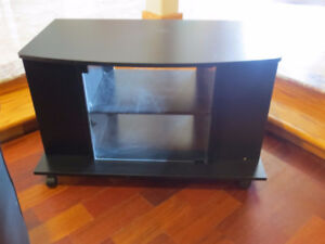 Black Table - TV Stand