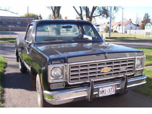 1976 Chevrolet C/K Pickup 1500 Scottsdale Pickup Truck